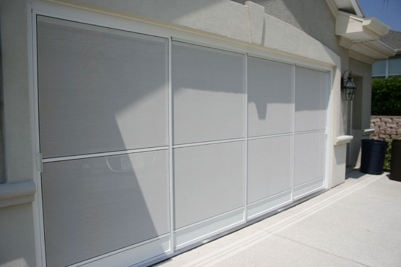 Sliding Garage Screen Doors Michele S Hide Away Screens