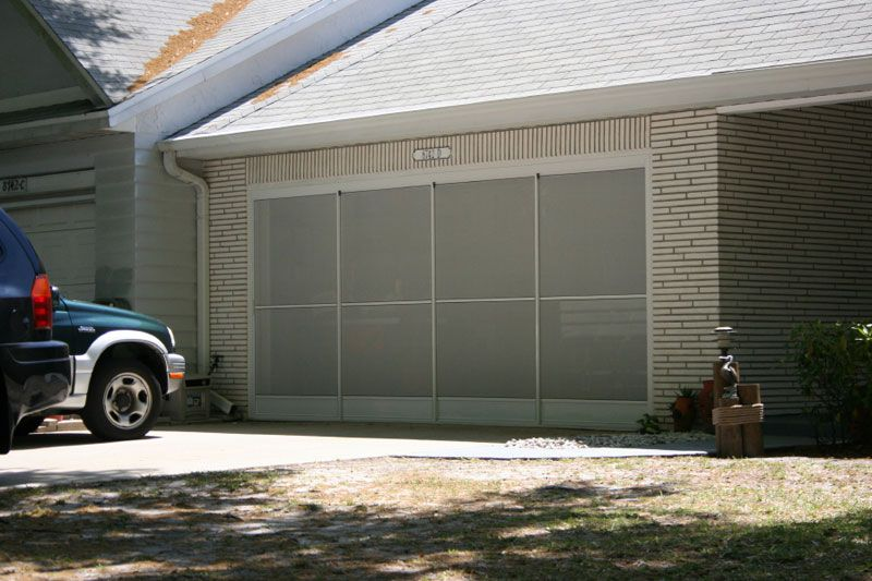 Sliding Garage Screen Doors Micheles Hide Away Screens