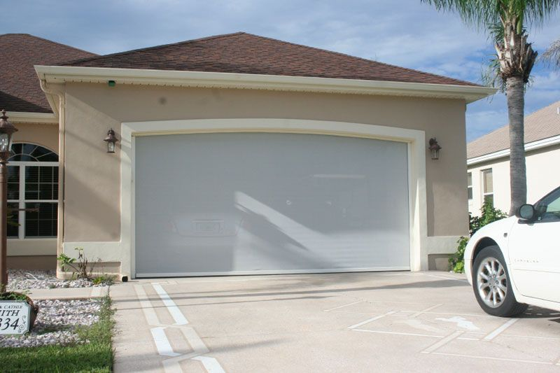 Roll up garage door screen garage screen doors picture for Screen door garage roller door