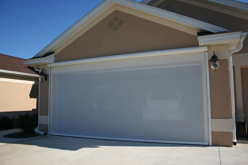 electric roll up garage screens michele 39 s hide away screens